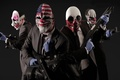 Picture weapons, games, clowns, payday 2, the robbers, game, mask