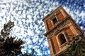 Picture the sky, Tower, clouds