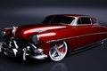 Picture retro, red, retro, hotrod