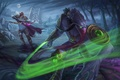 Picture starcraft, warcraft, sylvanas, Heroes of the Storm, zeratul