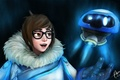 Picture Mei, Overwatch, Game, Blizzard Entertainment