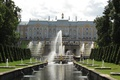 Picture Russia, Fountains, SPB, Gold, St. Peterburg, Peterhof, Peter