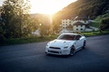 Picture Nissan, GT-R, Home, White, Street