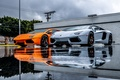 Picture Silver, Lamborghini, LP700-4, Aventador, Supercars, Orange, Orange, Supercars, Grey