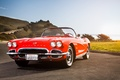 Picture Corvette, classic, chevrolet, Chevy, 1962, California Dreaming