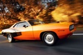 Picture in motion, muscle car, Plymouth, Plymouth cuda