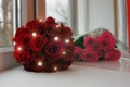 Picture wedding, roses, bouquet