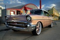 Picture 1957, chevrolet, street, bel air