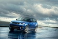 Picture 2015, Sport SVR, blue, Land Rover, Range Rover, car, photo