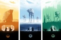 Picture star wars, poster, The Empire strikes back, A New Hope, Return of the Jedi, New ...