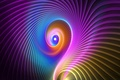 Picture color, pattern, light, spiral