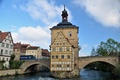 Picture bridge, building, Germany, Bayern, architecture, bridge, Germany, Bamberg, Bavaria, architecture, the river Regnitz, Bamberg, Regnitz ...