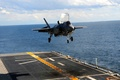 "Picture Lockheed-Martin F-35 ""Molniya, landing, F-35 Lightning II"