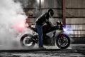 Picture smoke, motorcycle, Honda, burnout, superbike, sportbike, honda cbr 1000rr
