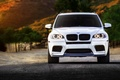 Picture wheels, front, X5M, tuning, BMW, white
