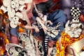 Picture alice, madness returns, blood, Hatter, madness, knife, caterpillar, wonderland, Alice