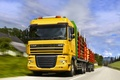 Picture Road, Truck, DAF, XF105, The truck