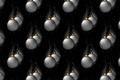 Picture balls, holiday, texture, background, New year