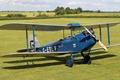 Picture double, biplane, De Havilland, DH.60 Moth