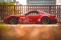Picture car, red, tuning, Mazda rx7, rx 7