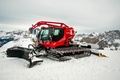 Picture winch, the sky, slope, snow, Mountains, bucket, Kässbohrer, Snowcat, From Kitty Bully