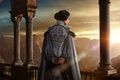 Picture Girl, Light, World, Action, Fantasy, Warcraft, Clouds, Beautiful, Legendary Pictures, Sun, Sunset, Queen, Palace, Female, ...