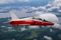 Picture easy, subsonic, cabin, Hawk, jet, landscape, attack, flight, training, the plane
