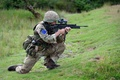 Picture weapons, soldiers, British Parachute Regiment