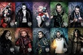 Picture Jay Hernandez, El Diablo, Suicide Squad, Jai Courtney, Adewale Akinnuoye-Agbaje, Enchantress, Deadshot, Karen Fukuhara, Joker, ...