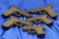 Picture Weapons, Wallpapers, Blue, Weapons, Wallpaper, Glock, Background, Glock, 34OD, 34ОД, Guns, 17OD, 19OD, 26ОД, 17LOD, ...