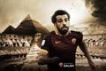 Picture wallpaper, sport, football, player, AS Roma, Mohamed Salah