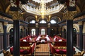 Picture chandelier, restaurant, the hotel, column, the hotel, dining room