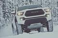 Picture winter, snow, white, Toyota, pickup, snow, pickup, TRD, Tacoma