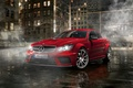 Picture street, night, Parking, Mercedes Benz C63, Mercedes, amg