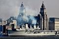 Picture the city, ship, pier, landing