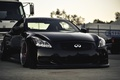 Picture Car, Infiniti, Black, Stance, Black, Low&Slow, G37, Infiniti, Tuning, Wallpapers